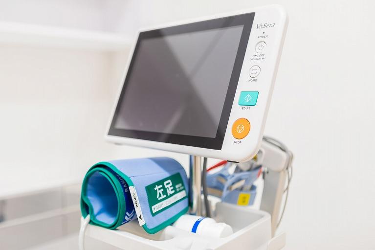 動脈硬化測定検査(血管年齢検査)